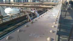 I always love the locks on bridges